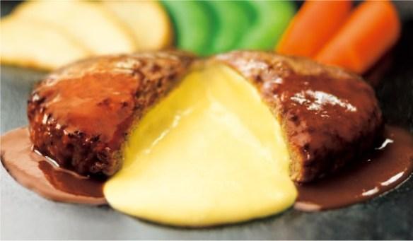 ガスト、チーズINハンバーグが399円(税込431円)のキャンペーン実施中