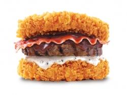 韓国KFC、チキン2枚でビーフ挟む肉だけバーガー発売