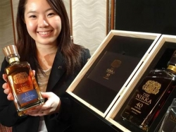 ニッカが1本50万円のウイスキー「ザ・ニッカ40年」を発売へ…1945年に仕込まれた原酒を使用
