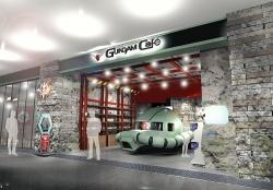 幕張イオンにジオン軍のカフェ「GUNDAM Cafe」オープン