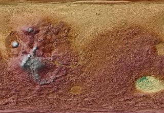 【宇宙】火星探査機キュリオシティ、土壌の中から光る物質を発見!