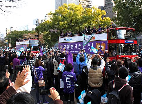 広島市長が「サンフレ2位でいい」発言を釈明 「よく分かってほしいということ。負けろと言ったつもりはない」