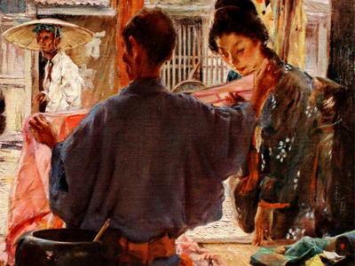 """米国人画家が描いた19世紀の日本 """"明治時代の風景画"""" … 色付けした写真よりも生々しく、心が揺さぶられる美しさ (画像)"""