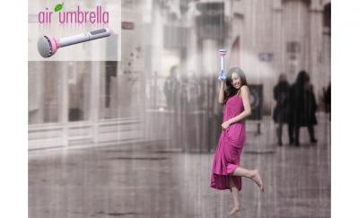 お前ら「傘はもう進化しない!」俺「空気で雨を跳ばせる見えない傘が開発されたのだが?^^;」