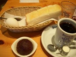 コーヒー頼んだのにパンも卵もつかない喫茶店www