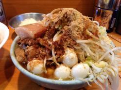 ラーメン二郎で数量限定の『なみのりつけめん』を食べてみた