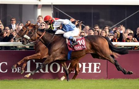 【競馬】 三冠馬オルフェーヴル(牡4)、来年も凱旋門賞挑戦へ