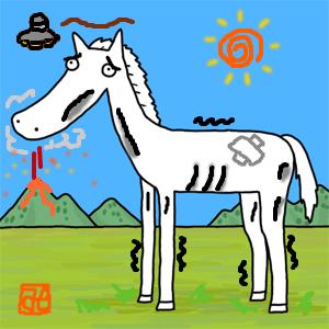 【競馬】 馬名の濁音・半濁音をとると急に弱そうになる