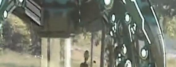 中国の森林にUFOが着陸!?宇宙人の姿をもとらえた映像が公開