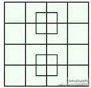 【問題】この画像から正方形を41個以上見つけられた奴は天才
