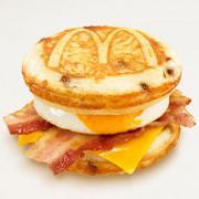 マクドナルドで朝メニューを食べたのだがマックグリドルがマズイ