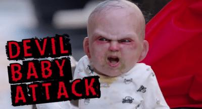 【閲覧注意】この海外の赤ちゃんドッキリ怖すぎだろwwwwwwwwwwww(動画あり)