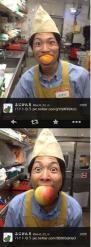 バイトがグレープフルーツくわえドヤ顔の写真をツイッターに投稿、東急ストア謝罪