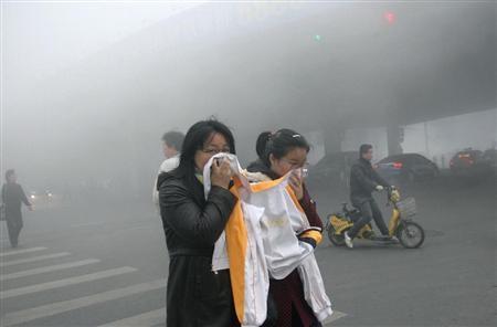 【悲報】中国がそろそろガチで人が住める環境じゃなくなってきてる件