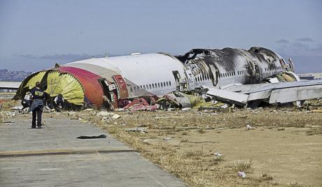 韓国「アメリカはアシアナ機事故の調査内容を一方的に公開しないように」