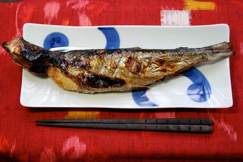 東日本では、ニシンの焼魚が割と一般的なものらしい