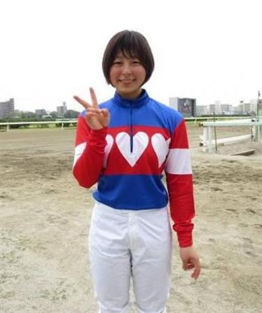 【競馬】 CBC賞の誘導馬に名古屋の新人女性騎手・木之前葵(19)が騎乗 ハート柄の勝負服がトレードマーク、今年デビューで既に6勝