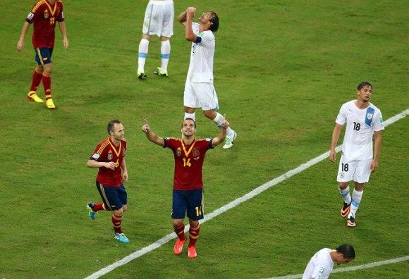 【コンフェデ杯】B組 スペイン×ウルグアイの結果