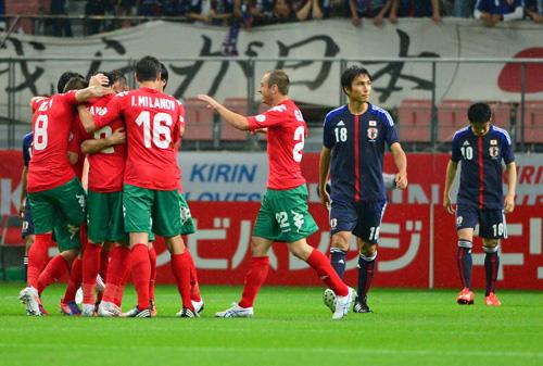 日本代表 ブルガリア