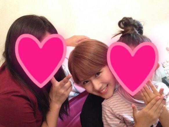 【℃-ute】岡井姉妹、池袋のネイルサロンへご来店