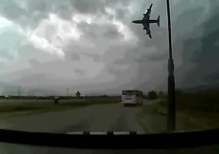 アフガニスタンでボーイング747が離陸後に失速して墜落する映像がyoutubeにアップされる (動画あり)