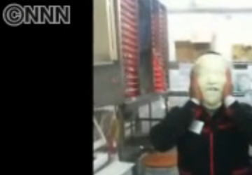 """日本テレビ、報道番組『ニュースZERO』で""""「2ちゃんねる」から引っ張ってきたコラージュ画像(ぼっさんコラ)""""をニュース画像として使用してしまう (動画あり)"""