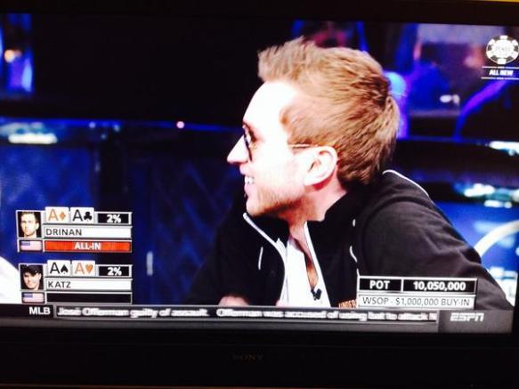 【動画・画像あり】ポーカー世界大会で5億円を失った瞬間wwwwwwwwwwwww