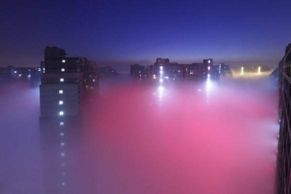 【画像あり】中国が大気汚染で異世界すぎるwwwwwwwwwwwwwww
