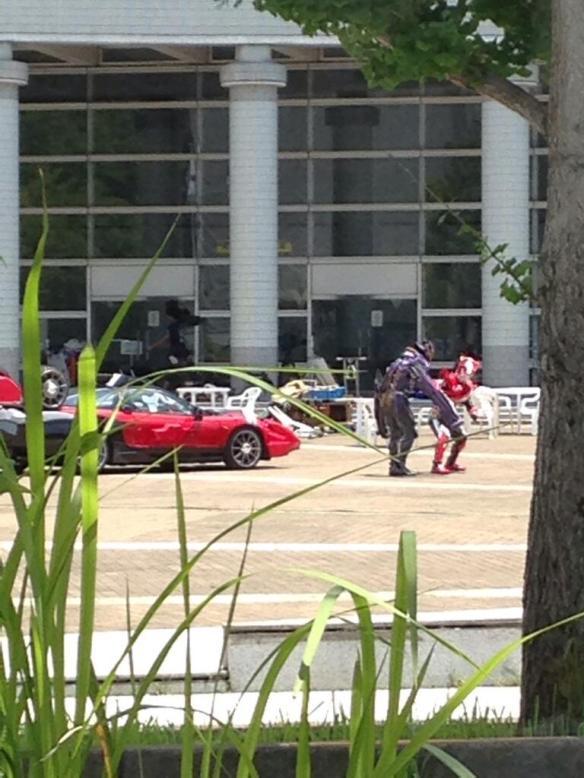 【画像あり】仮面ライダードライブの撮影現場wwwwwwwwwwww
