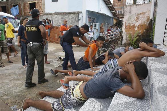 【閲覧注意】ブラジルの治安悪過ぎるだろwwwwwwwwwwwwwww(画像あり)
