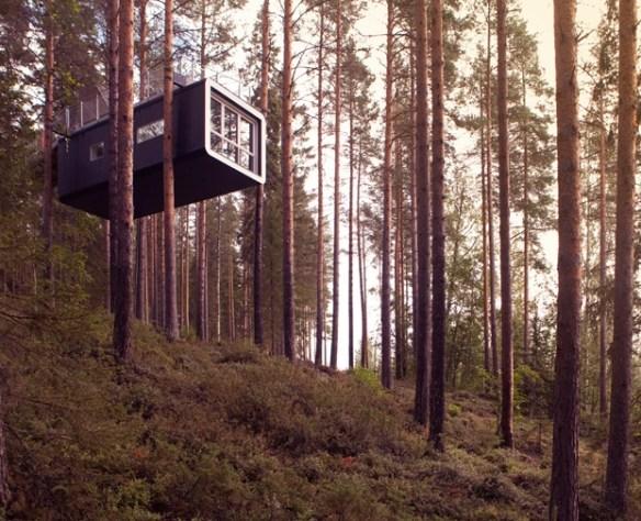 【画像】実際に存在する夢の様な18のツリーハウス