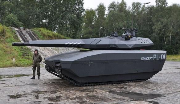 【画像あり】ポーランドの戦車が未来的すぎるwwwwwwwwwwwww