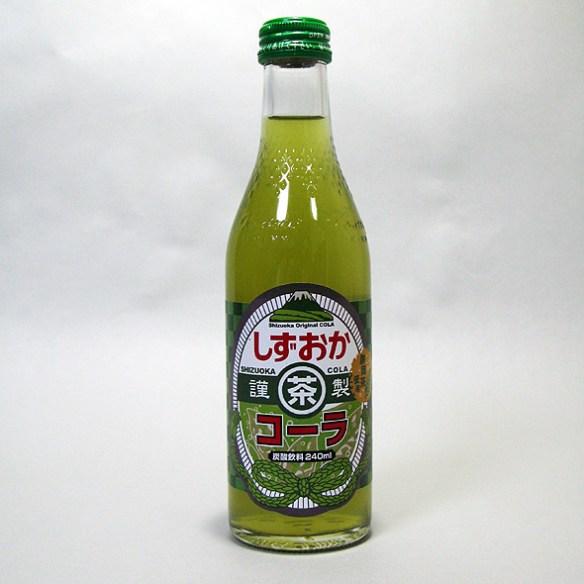 緑茶とコーラが1つになった静岡のご当地ドリンクが凄い(画像あり)