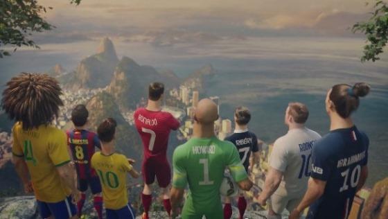 """ナイキ、スター選手とクローンが""""サッカーを賭けて""""戦うアニメ動画「The Last Game」を公開!"""