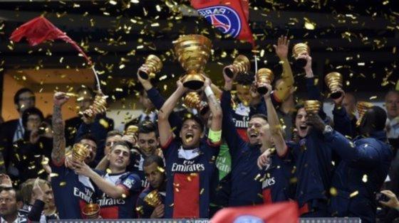 PSGがリヨンを下しリーグカップ制覇!カバーニ2得点