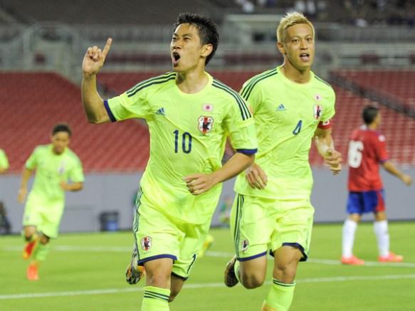 【親善試合】日本、コスタリカに3-1逆転勝ち!(動画)