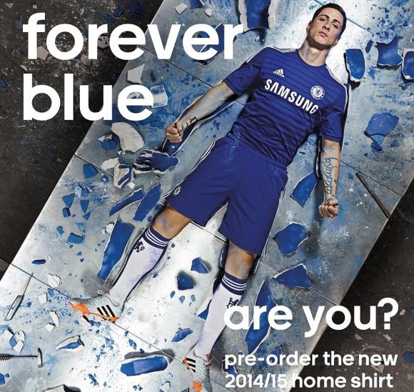チェルシーとアディダス、2014-15シーズンの新ユニを発表。プロモーション動画「Forever Blue」を公開