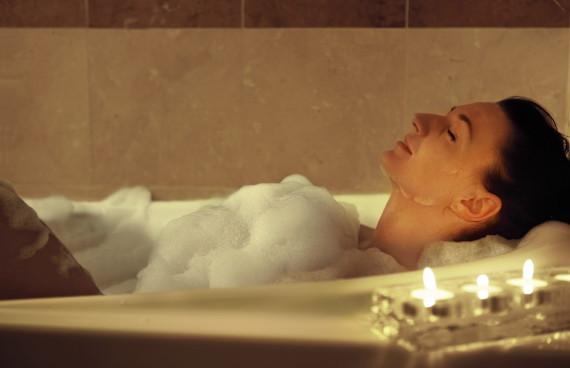 風呂で寝るのが落ち着く