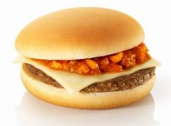 マクドナルド、「ミートソースバーガー」発売。値段は195円