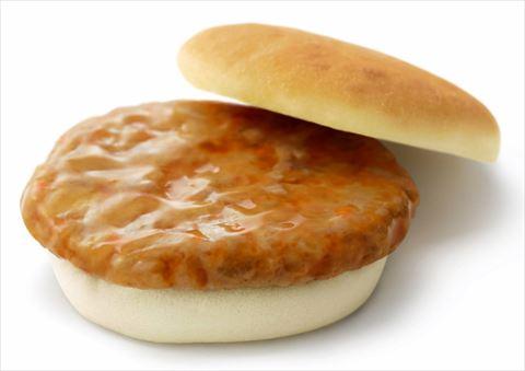モスから発売の低アレルゲンの米粉バーガーをご覧ください