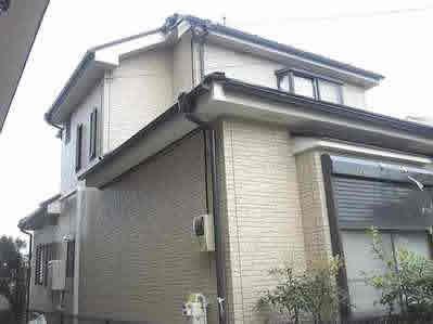 外壁サイディングクリアー塗装2