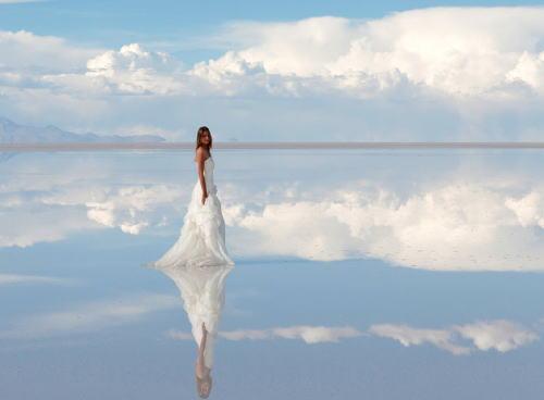世界の塩湖が魅せる「七つの絶景」 (画像)