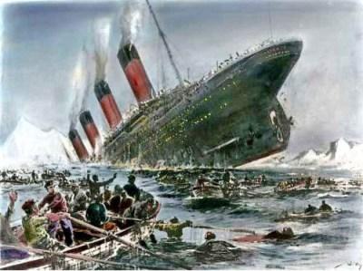 """韓国旅客船沈没事故 268人がなお不明、救助率は30%台という低水準 … 1世紀前のタイタニック事故並みの救助率というお粗末さに「これが1912年英国と2014年韓国の""""国の格""""の差だ」"""