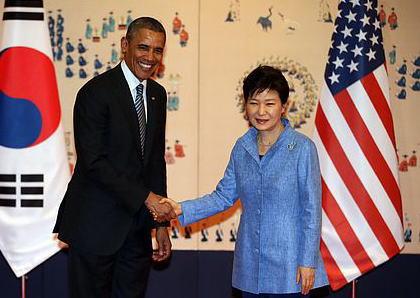 米韓首脳会談でオバマ大統領「慰安婦は人権侵害」と言及しながらも、「過去を正直かつ公正に認識しなければならない」と強調