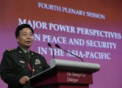 中国参謀副総長「中国はいかなる国に対しても、武力で威嚇したことは1度もない」「対話で猜疑心を減少することが重要」と強調 … シンガポールで開催中のアジア安全保障会議で演説