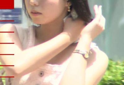 NHKの猛暑日のニュースに映っている美女は仕込みではないかと話題に (画像)