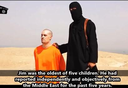 ISIS、米国人記者の処刑映像を公開 … 2年前にシリアで消息を絶っていたジャーナリストのジェームズ・フォーリー氏か