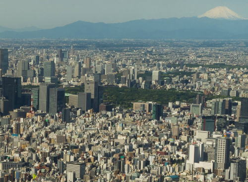 外国人「えっ?東京ってこんなに巨大だったの!?」 … 世界には超高層ビルが林立する大都市が幾つもあるが、意外にも「東京ならでは」と海外サイトで驚かれていた写真 (画像)
