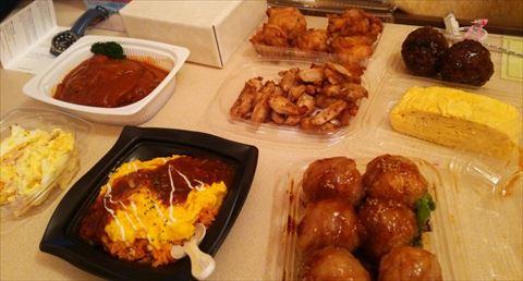 ストレスたまったんでイトーヨーカドーでお総菜3000円も買ってきたよ!食いまくってやるよ!!!!