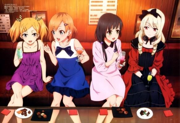 【画像】SHIROBAKOの絵麻とゴスロリ様の抱き枕カバーのイラスト公開されたけどエロすぎるwwwww